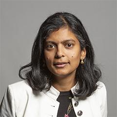 Dr Rupa Huq  MP
